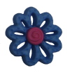Blue Swirl Flower