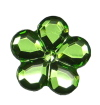 Green Acrylic Flower