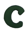Green Letter C